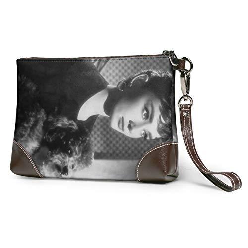 Audrey Hepburn Weiche Leder Handtaschen, Abendtasche Kleine Klassische Taschen, Leder Clutch, Clutch, Kosmetik Taschen, Kosmetik Cags, Reisetaschen, Kosmetik Clutches