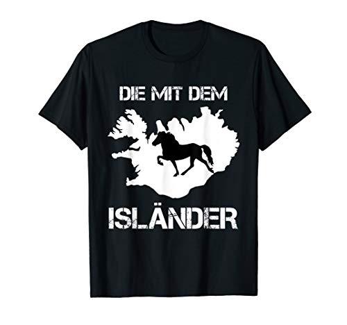 Islandpferd Isländer Island Pony Lustiges Shirt