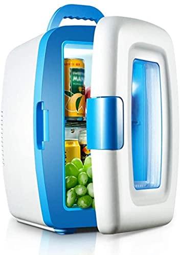 Mini refrigerador de bebidas para coche, dormitorio de viaje, calentador de picnic de 10 l para el hogar y la oficina del coche, mini refrigerador, regalo del día de San Valentín