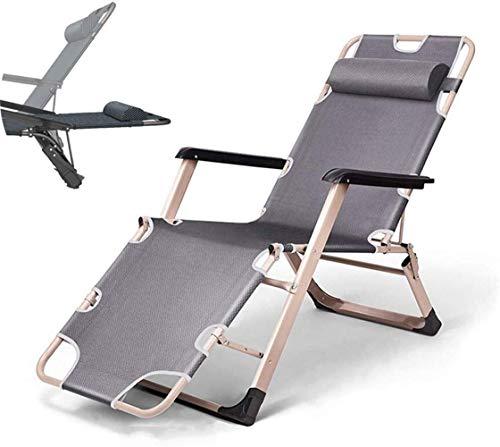 Silla plegable ligera y duradera para acampar, silla plegable Cunas para acampar plegables para adultos, resistente, extra ancha, resistente, portátil, para uso en la oficina del campamento, tela de p