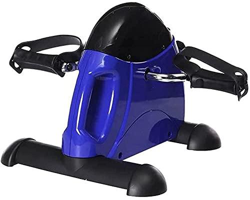 RRB Mini Bicicleta estática Debajo del Escritorio RRB Ejercitador con Pantalla Digital Mango Resistencia Ajustable para Ancianos-Mini Bicicleta estática