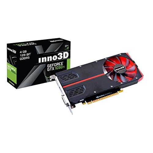 Inno3D GeForce GTX 1050Ti 1-Slot Ed. 4GB GDDR5 Grafikkarte DP/DVI/HDMI