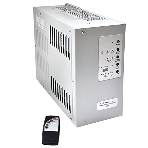 A7K Ozone Generator by A2Z Ozone | Repeat Timer | Remote Control, Eliminating Odors in Homes, Cars, Large Rooms
