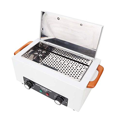 200 °C hoge temperatuur sterilisator, 300 W desinfectiekast steriliseer het Nail Art-gereedschap van de machine met antislip bodem design (2L)