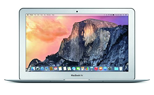 Apple MacBook Air 11 inches (Early 2015) - Core i5 1.6GHz, 4GB RAM, 256GB SSD (Renewed)