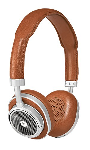 Master & Dynamic MW50S2 Brown/Silver Wireless On-Ear Headphones