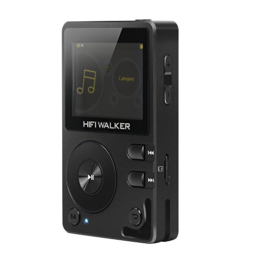 HIFIWALKERH2ハイレゾ高音質音楽プレイヤBluetooth対応デジタルオーディオプレーヤーポータブル