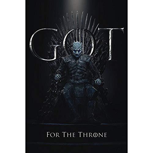 Game Of Thrones Póster El rey de la noche Juego de Tronos, 61 x 91.5cm