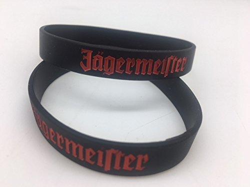 2 Jägermeister Freundschaftsarmbänder im Set Silikon Armband