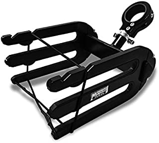 Monster Wakeboard Rack - Quick Release - Black - with Universal Inserts - Brushed and Anodized
