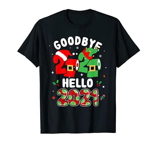 Feliz Año Nuevo 2021 Nochevieja Adiós 2020 Pijama Familia Camiseta