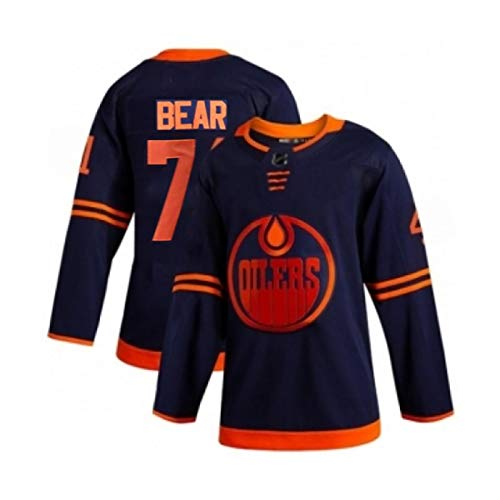 Camiseta de hockey sobre hielo de los hombres, Oilers hockey sobre hielo Jersey #74 Oso 99 Gretzky 97 Mcdavid jersey,Hombres Ropa Sudaderas Transpirable Camiseta L A