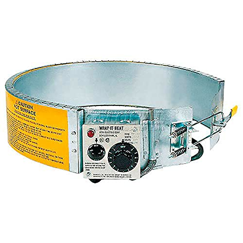 Expo Engineered TRX-55-H-240 Drum Heater 200 To 400 Degrees Fahrenheit 3000 Watt