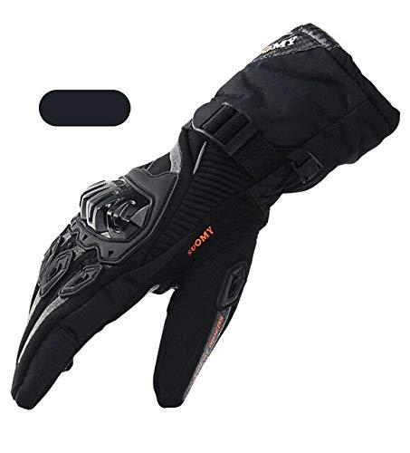 Dgtyui Motorcycle gloves men's waterproof windproof winter motorcycle gloves touch screen motorcycle riding gloves - A1 X XXL