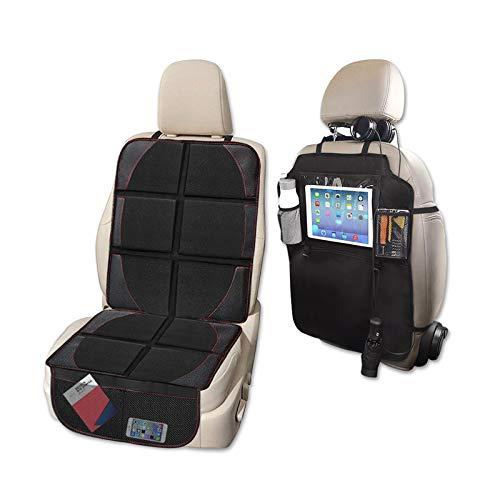 Product Image of the Car Seat Protector and Kick Mat Car Seat Organizer, Whew Waterproof Padding...