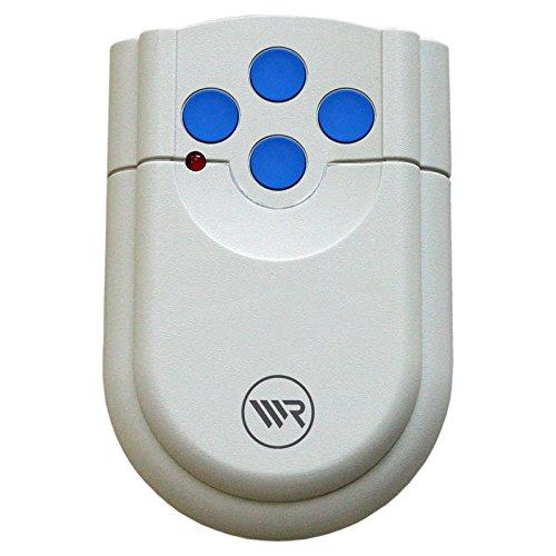RADEMACHER Handsender 4-Kanal 4385-4T 433 MHz für Samson, Rator S4, Rator F3, Rolloprot S3, Rolloport S4 und DTA200 Funkempfänger Typ 4340