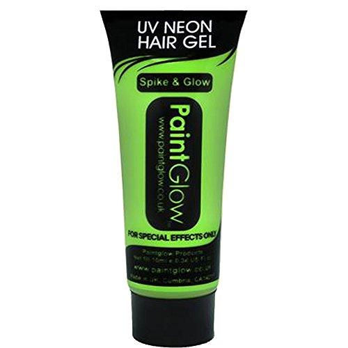 Smiffys - SM46094 - Gel Cheveux UV 10 ml Vert - Taille Unique