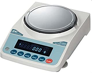 A&D FX-1200iN FX-Series Precision Lab Balance, Compact Scale 1220 g X 0.01 g (10 mg),NTEP, Legal Foer Trade,New