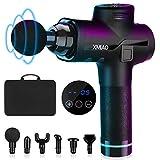XMIAO Massage Gun-Deep Tissue Muscle Massage Gun-Powerful 20 Speeds Vibration Percussion Muscle Massager-Electric