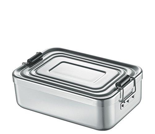 Küchenprofi 1001462418 Lunch Box, klein, Silber, Aluminium, 18