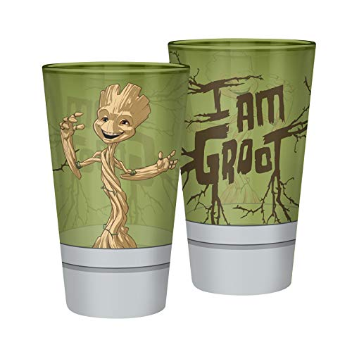 ABYstyle - Marvel - Verre XXL - 400 ML - Groot