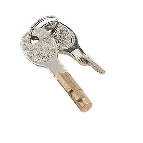 Sealey TB36/LK bloqueo y clave para O50mm enganche de remolque
