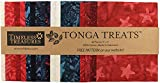 Timeless Treasures Tonga Batik Leckerli-Set, 12,7 cm,