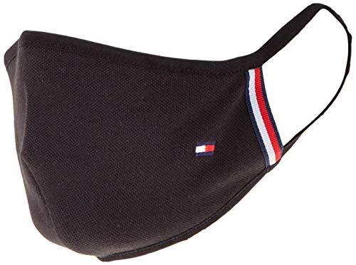 Tommy Hilfiger Damen WOMENS FLAG FACE COVER Mode-Schal, Schwarz, One size