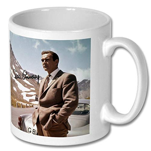 Sean Connery - 007 - James Bond - Goldfinger 4 Large Mug 11cm - High Resolution Image with Personalisation Availible for Any Occasion (No Personalised Message)