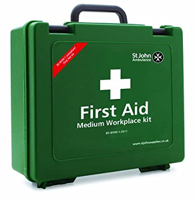 Standard Medium Workplace First Aid Kit BS-8599-1: 2019 from St John Ambulance