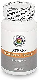 Dr. Dale's ATP MAX - Adrenal Support - Non-GMO, Gluten Free, Organic & Wild-harvested, Vegan, Veggie Caps, No Toxic Flow A...