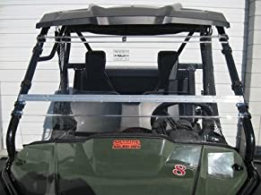HONDA PIONEER 500 Full-Tilt Windshield-Best of both worlds. Half when you want and full when you need. (Does not fit the 700 or 1000) Made in America