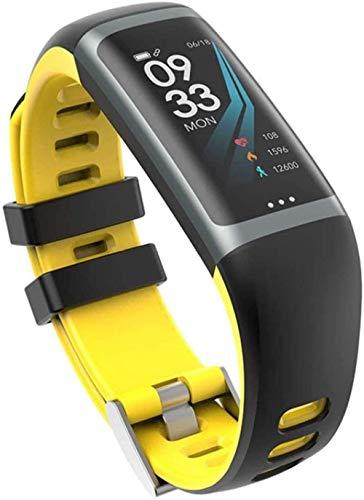 JSL Fitness Trackers - Reloj inteligente para hombre y mujer con presión arterial y frecuencia cardíaca, contador de pasos, podómetro, etc