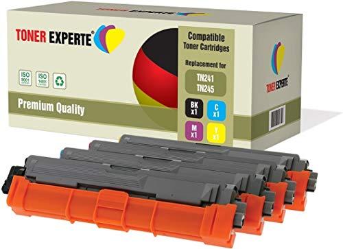4er Set TONER EXPERTE® Premium Toner kompatibel zu TN241 TN245 für Brother DCP-9015CDW DCP-9020CDW MFC-9140CDN MFC-9330CDW MFC-9340CDW HL-3140CW HL-3142CW HL-3150CDW HL-3152CDW HL-3170CDW HL-3172CDW