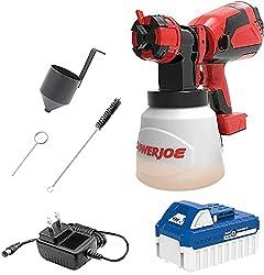 Sun Joe 24-Volt Amp Cordless HVLP Handheld Paint Sprayer