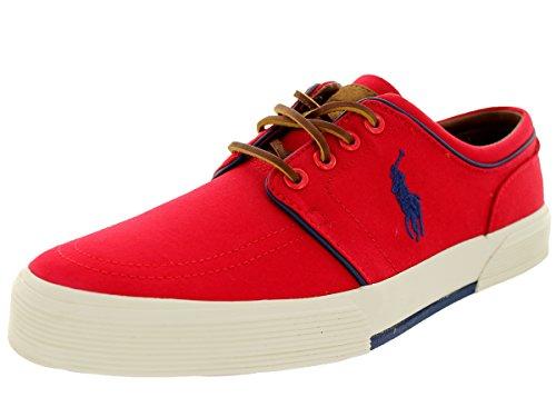 Polo Ralph Lauren Mens Faxon Low Red Sneaker - 9