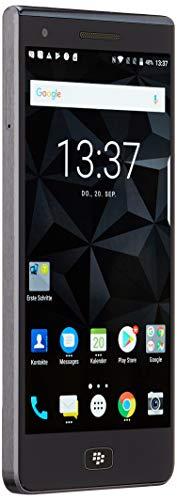 BlackBerry Motion Smartphone (5,5 Zoll), 12MP Kamera, 4.000 mAh Akku mit Schnellladefunktion, 32GB ROM / 4 GB RAM, Staub- und Spritzwassergeschützt (IP67), DUAL SIM, schwarz