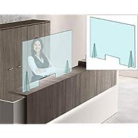 Mampara Protectora en Metacrilato de 4 mm con ventanilla Dim: 100x75cm. (entrega inmediata) ENVÍO GRATIS-