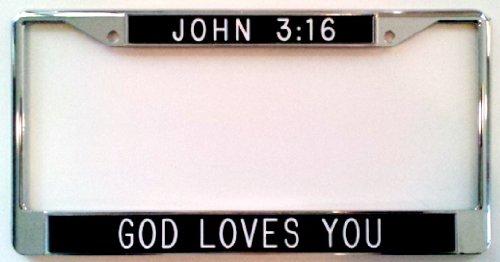 Love Jesus License Plate - 8