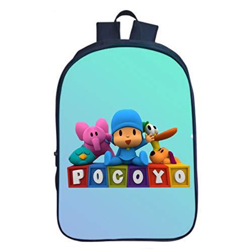 GD-fashion Pocoyo Backpack-Little Kids Backpack Lightweight Cartoon Backpack-Backpack for Travel,Outdoor,School