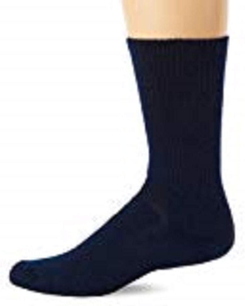 Thorlos WX Crew Walking Socks Navy Large, Thorlos