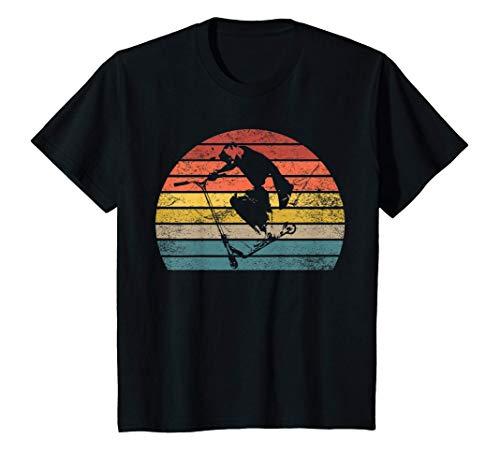 Kinder Stunt Scooter Tretroller für Kinder T-Shirt