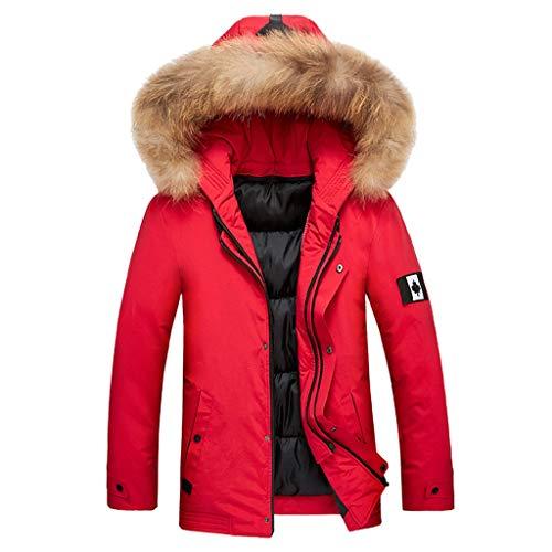 Komise Herren Herbst Winter Large Size Kapuzenmantel Verdickung Langarm Jacke