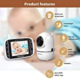 Zoom IMG-1 hellobaby baby monitor hb65 con