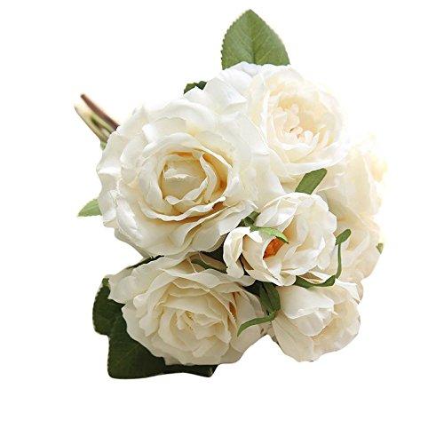 serliy Künstliche gefälschte Blumen Rose Bouquet Floral Hochzeit Bouquet Party Home Decor
