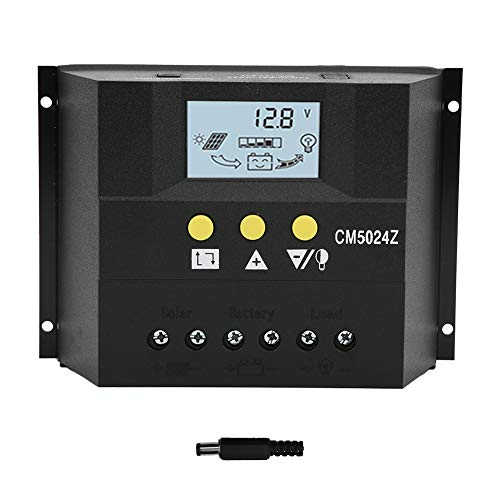 Cargador Controlador Regulador de batería multifunción Cargador Fácil de operar para trabajos de carga solar