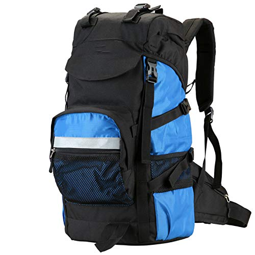 ZHENXIN Sacs à Dos de randonnée 60l Outdoor Nylon Waterproof Backpack Large Capacity Camping Bags Mountaineering Bag Men's Hiking Rucksack Voyage Sac à Dos
