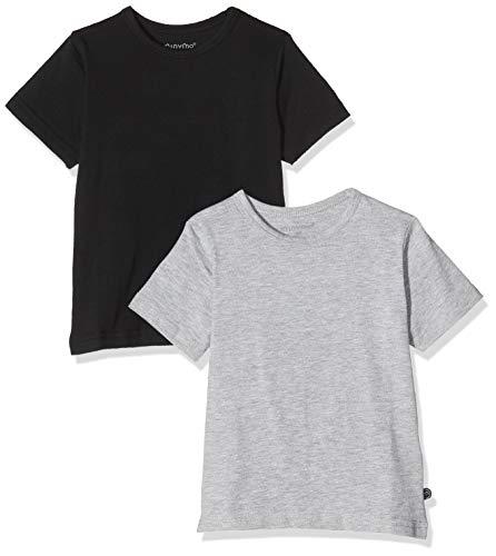 Minymo 2er Pack Baby Jungen T-Shirt,...
