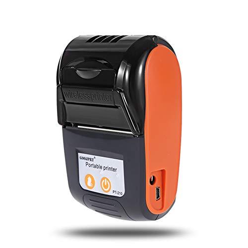 LSQ Mini Portable Bluetooth sans Fil Portable Thermique Miniature imprimante 58MM Machine de réception sans Fil pour Windows Android iOS,B