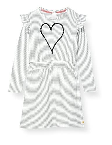 Noppies Mädchen G Dress LS Lestrange Kinderkleid, Silver Pine-P222, 116